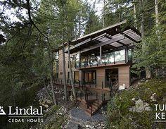 lindal cedar homes photos | Cedar Corp tahoe Custom Homes Independent Dealers of Lindal Cedar ...
