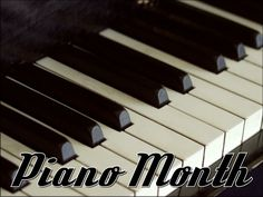September is Piano Month