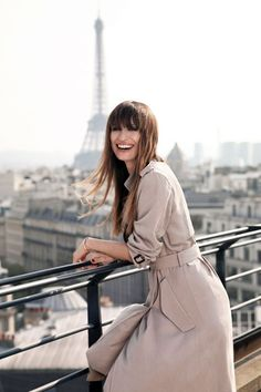 Lancôme has enlisted model, music producer and street style favourite Caroline de Maigret to act as its new Parisian muse