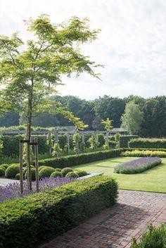 Wonderful Types Of Urban Gardening Ideas. Sensational Types Of Urban Gardening Ideas. Boxwood Garden, Gravel Garden, Garden Landscaping, Pond Design, Garden Landscape Design, Lake Garden, Dream Garden, Formal Gardens, Outdoor Gardens