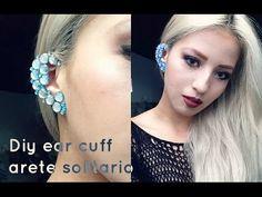DIY ear cuff - bijou d'oreille - How to make a nice ear cuff