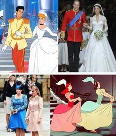 des Princesses de Disney en Vrai