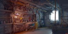 spaceship bathroom sci-fi - Поиск в Google
