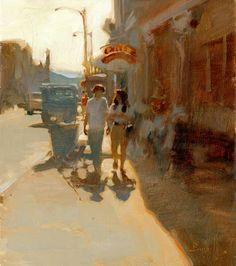 City Art Gallery Painters Kim English colorado painter, figurative paintings