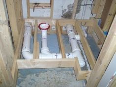 how to install a toilet in a basement e1367154524642 Tips and Steps of How to Plumb a Basement Bathroom