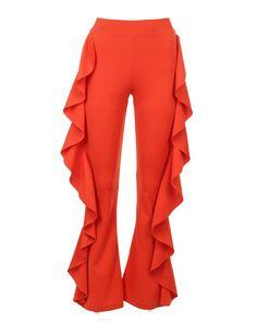 Nasty Gal | Orange Play The Game Ruffle Pants Play The Game Ruffle Pants | Lyst