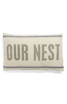 PRIMITIVES+BY+KATHY+'Our+Nest'+Pillow+available+at+#Nordstrom