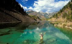 Fly fishing in a turquoise gem in the Kootenays | 100 BC Moments