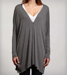 Flowing Knit Cardigan   Women's Clothing   Samantha Eng   want this too. love a drapey cardy