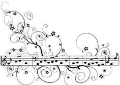 Musical doodle - could incorporate into a zentangle pattern Doodles Zentangles, Zentangle Patterns, Doodle Drawings, Doodle Art, Music Doodle, Art Quilling, Colouring Pages, Line Art, Illustration