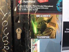 09/06/16 Activismo huertano. Star wars