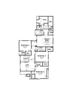 1000 images about floor plan inspiration on pinterest for His and hers bathroom floor plans