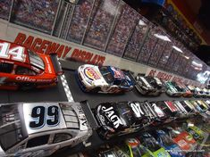 These are just some of the many cars on display at the RS Diecast, Racing, and Collectibles store in downtown Belton, Mo.