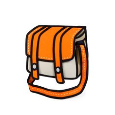 JumpFromPaper™ is a playful and innovative line of bags and satchels. The bold outlines, bright and vibrant colors will be sure to turn heads and be the talk of the town. Are they real? Yes they're real.