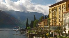 £85 Hotel Britannia Excelsior is set on the shores of Lake Como and is a former 19th-century inn.