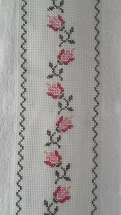 This Pin was discovered by HUZ Cross Stitch Quotes, Cross Stitch Bookmarks, Cross Stitch Borders, Cross Stitch Flowers, Cross Stitch Designs, Cross Stitching, Cross Stitch Embroidery, Hand Embroidery, Cross Stitch Patterns