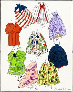 Fashion and costume in the eighteenth century
