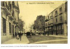 Generación del 27. En la actual C/ Córdoba (antes llamada Alameda de Carlos Haes), vivió el premio Nobel Vicente Aleixandre durante su estancia en Málaga. Desde 1960 una lápida recuerda la casa en la que residió nº 5.