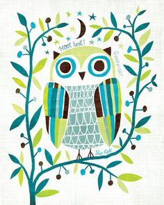 'Owl' by Michael Mullan