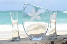 Hawaii Etched Sand Ceremony With Your Favorite by HawaiiWeddings