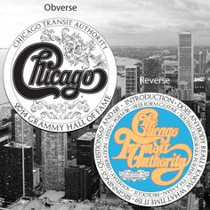 Chicago Transit Authority Grammy Commemorative Coin Prototype.