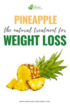 The pineapple is a great natural treatment for weight loss, due to the antioxidants, fibers, enzymes and vitamin complex. Home Remedies, Natural Remedies, Women Problems, Digestion Process, Weight Loss Detox, Natural Women, Lose Weight Naturally, Healthy Women, Detox Tea