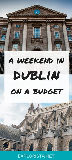 Just how much can you do in Dublin, Ireland in a weekend and on a budget? Find out here! - Visit https://yourtravelbase.com to find out more!
