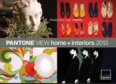 Color Trends  PANTONE home + interiors 2013