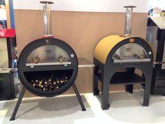"Pulcinella + Happy Day ovens at Verona fair ""PROGETTO FUOCO 2014""."
