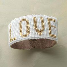 Eloquence Bracelet by Sundance. Beautiful hand beading...