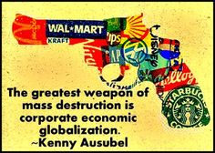 Economic Globalization...when viewed this way, why it is being promoted in schools?