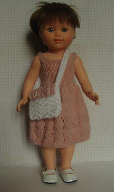 Robe pour poupée Marie Françoise, Modes et travaux, poupée 40 cm. : Jeux, jouets par aux-fils-du-bocage