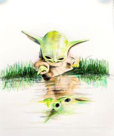 Yoda Funny, Yoda Meme, Boba Fett, My Bebe, Science Fiction, Star Wars Images, Mandalorian, Star Wars Art, Clone Wars