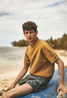 Arthur Gosse for L'Officiel Hommes Spain by Alan Chies