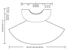 """Lizzy"" by Drops Design - Crochet free pattern & diagram - Size S-XXXL"