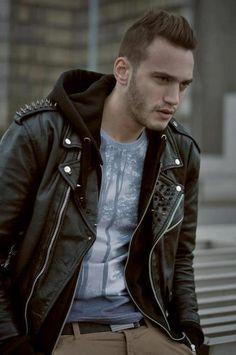 I REALLY WANT a leather jacket!