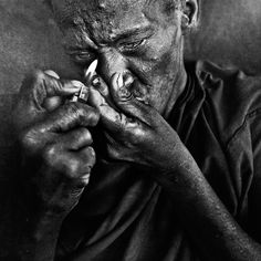 Photo Crack. by Lee Jeffries on 500px