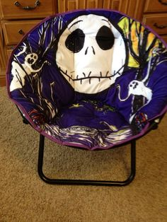 Nightmare Before Christmas Chair