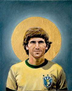 +++ Zico +++ A Football Report - Football Icons, by David Diehl