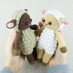 Cuddle Me Sheep amigurumi vzor - tisknout PDF