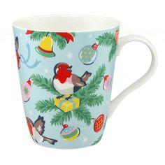 Robins Stanley Mug   Mugs   CathKidston