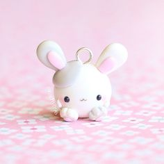 Hi everyone! Here is a chubby bunny! And not the kind where you stick marshmallows in your mouth either Hope you like it! ✌ #polymerclay #polymer #clay #cute #kawaii #chubbyanimalcollectables #bunny #rabbit #craft #handmade #sculpey #fimo #premo