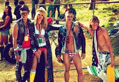 All the Latest Spring 2012 Ads, Part II — Dsquared | Editorial