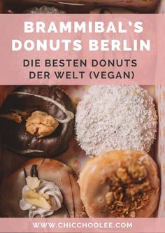 Brammibal's Donuts Berlin – die besten Donuts der Welt (VEGAN!) Donuts, Berlin, Vegan, Breakfast, Food, Europe, Travel Inspiration, Easy Meals, World