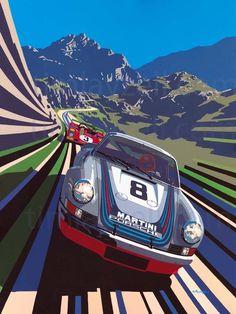 Team Martini Racing Porsche