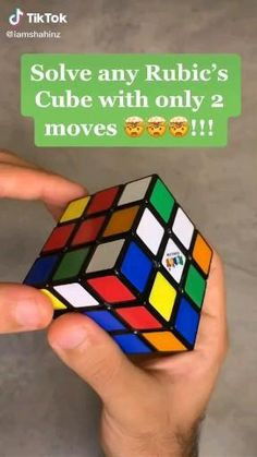 Rubiks Cube Patterns, Rubric Cube, Solving A Rubix Cube, Diy For Kids, Crafts For Kids, 5 Minute Crafts Videos, Everyday Hacks, Cool Gadgets To Buy, Diy Crafts Hacks