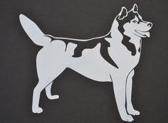Sticker: Siberian Husky Silhouette