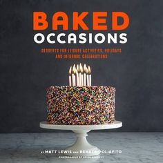 Eat Your Books - Baked Occasions cookbook giveaway