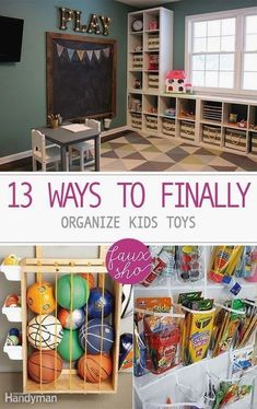 13 Ways to Finally Organize Kids Toys Playroom Organization Finally Kids Organize Toys Ways Diy Kids Room, Kids Bedroom, Diy For Kids, Kids Rooms, Kids Playroom Ideas Toddlers, Children Playroom, Kid Playroom, Play Rooms, Art Rooms