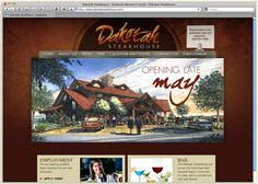 Dakotah Steakhouse is a new restaurant in Rapid City. As part of their start-up strategy, the owners asked RSA to help develop a branding campaign and design a website. Our challenge was to combine the upscale steakhouse concept with a contemporary, western chic feel. We chose rustic colors and textures and incorporated high-quality photos of entrees, drinks, and desserts to invite and entice potential diners.    Is your website visually appealing and structurally intelligent? Ask us!